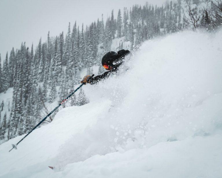 Jackson hole skiing steep & deep
